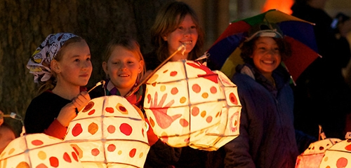 Recycled Market offers up local bargains and handmade lanterns
