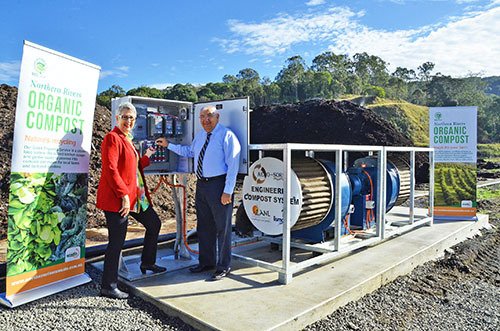 Organics facility upgrade makes Lismore compost capital