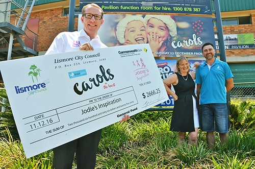 Carols evening raises over $2500 for charity