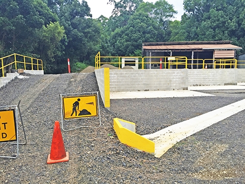 Nimbin Transfer Station upgrade makes recycling easier