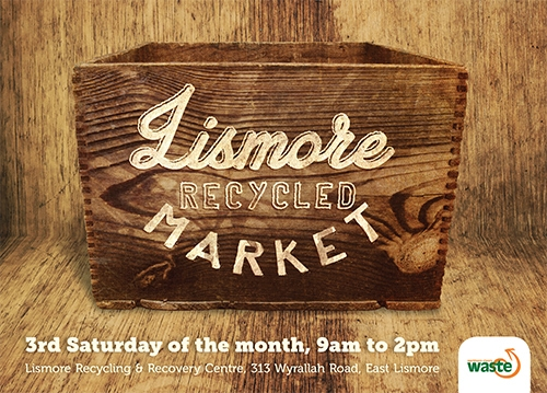 New Lismore Recycled Market another step to sustainability