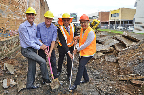 Work begins on multimillion dollar office development in CBD