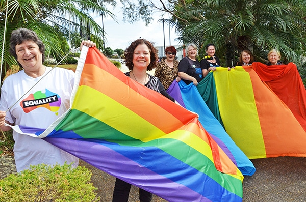 Council flies the flag for marriage equality