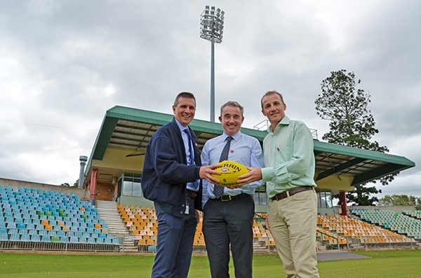 Federal Government announces $1.4 million for Oakes Oval upgrade