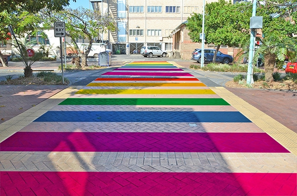 Residents asked to vote on CBD rainbow project