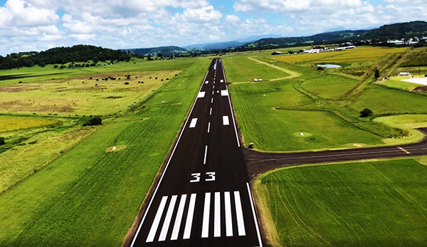 New runway helps cement Lismore's aviation future