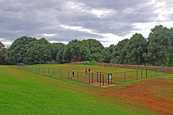 First off-leash dog area for Goonellabah now open