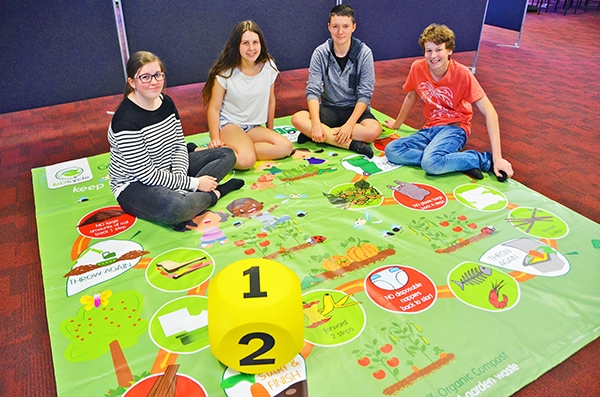 TAFE students have designs on organics recycling game