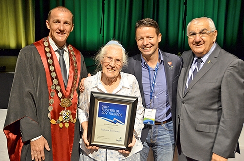 Quiet achiever named 2017 Citizen of the Year