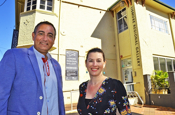 Business support staff make old gallery new home