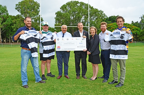 Rugby match raises $35,000 for Lismore Flood Appeal