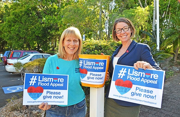 Locals called on to help boost Lismore Flood Appeal total