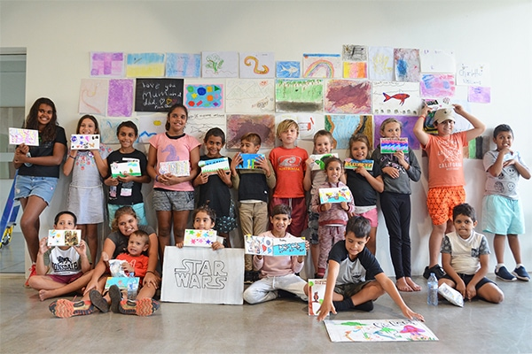 Young indigenous children benefit from community grants scheme