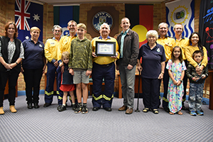 120 years of RFS volunteering recognised by Lismore Mayor