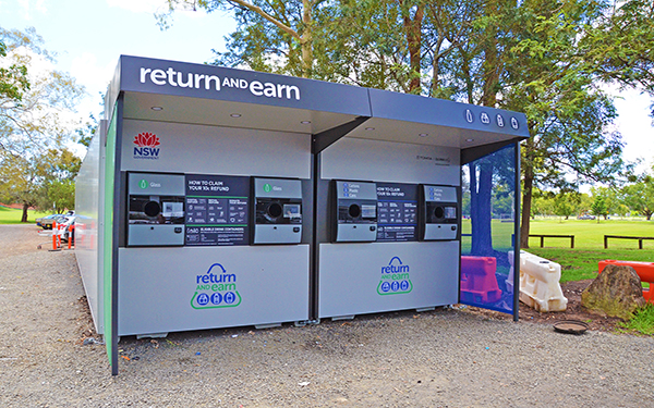 Reverse vending machine closes for site upgrade