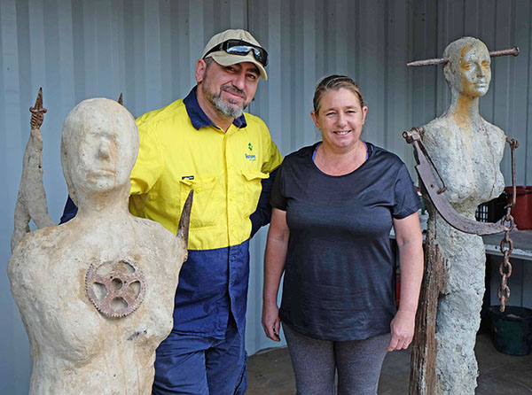 TAFE artist takes up residence at Revolve Shop